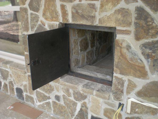 Firewood Door
