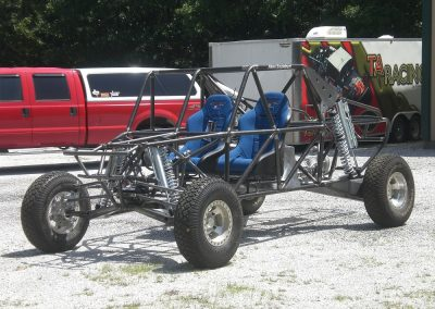 Chassis ready to load